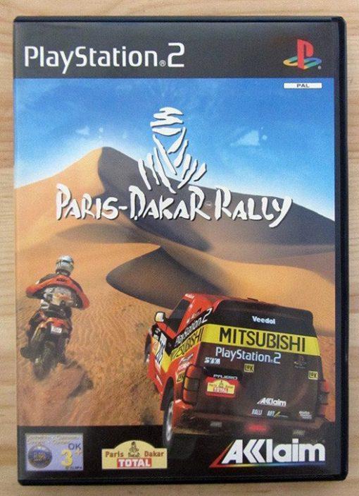 Videojogo Usado PS2 Paris-Dakar Rally