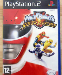 Videojogo Usado PS2 Power Rangers: Super Legends