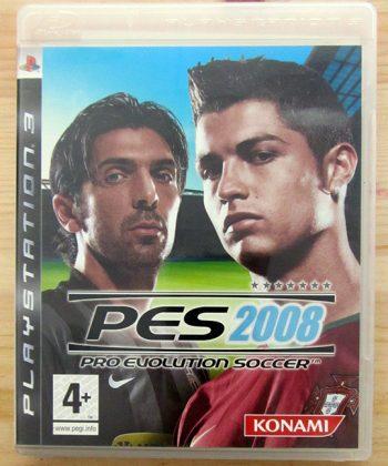 Videojogo Usado PS3 Pro Evolution Soccer 2008