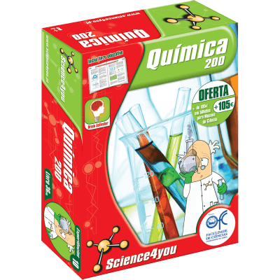 Brinquedo Science 4 You Química 200