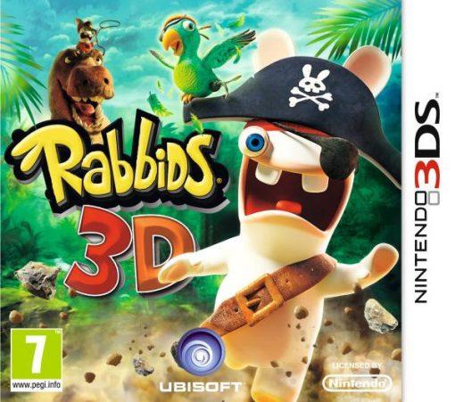 Videojogo 3DS Rabbids 3D
