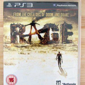 jogo Usado PS3 Rage