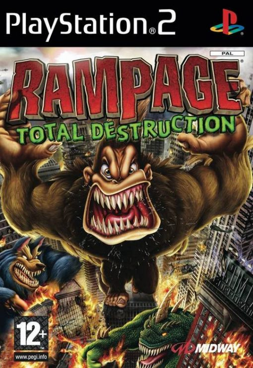 Videojogo Usado PS2 Rampage: Total Destruction