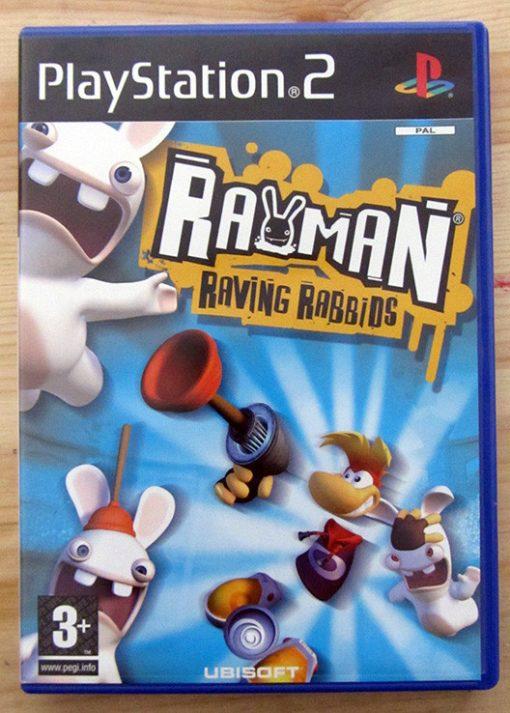 Videojogo Usado PS2 Rayman Raving Rabbids