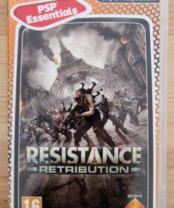Videojogo Usado PSP Resistance: Retribution
