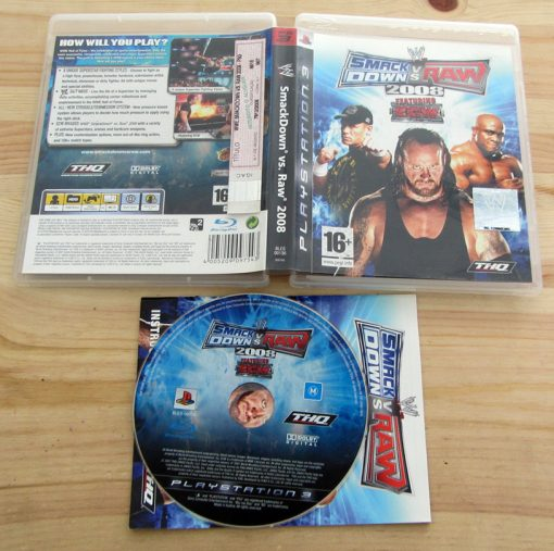 Smackdown vs Raw 2008 PS3
