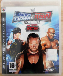 Videojogo Usado PS3 Smackdown vs Raw 2008