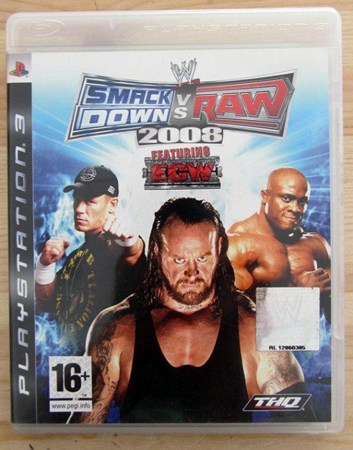 Videojogo Usado PS3 Smackdown vs Raw 2008