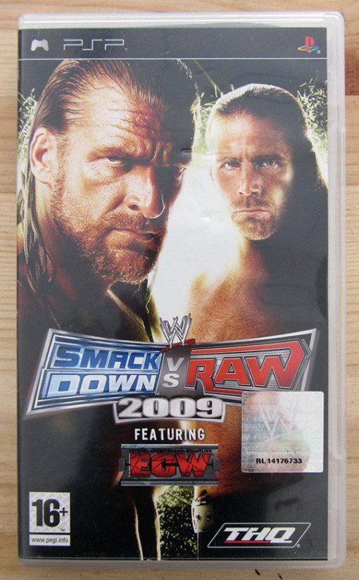 Videojogo Usado PSP Smackdown vs Raw 2009