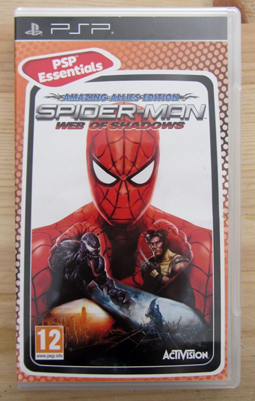 Videojogo Usado PSP Spider-Man: Web of Shadows