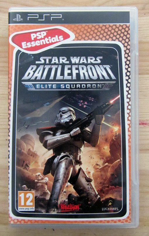 Videojogo Usado PSP Star Wars Battlefront: Elite Squadron