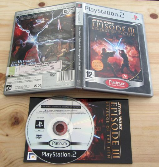 Star Wars Episode III - Revenge of the Sith PS2