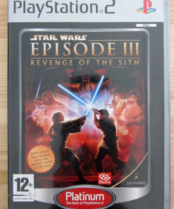 Videojogo Usado PS2 Star Wars Episode III - Revenge of the Sith