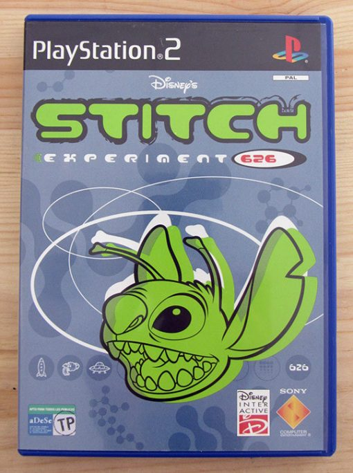 Videojogo Usado PS2 Disney's Stitch: Experiment 626