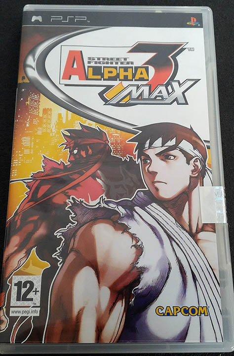 Street Fighter Alpha 3 Max PSP