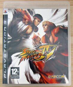Videojogo Usado PS3 Street Fighter IV