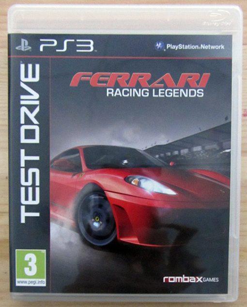 Videojogo Usado PS3 Test Drive: Ferrari Racing Legends