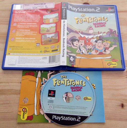 The Flintstones: Bedrock Racing PS2