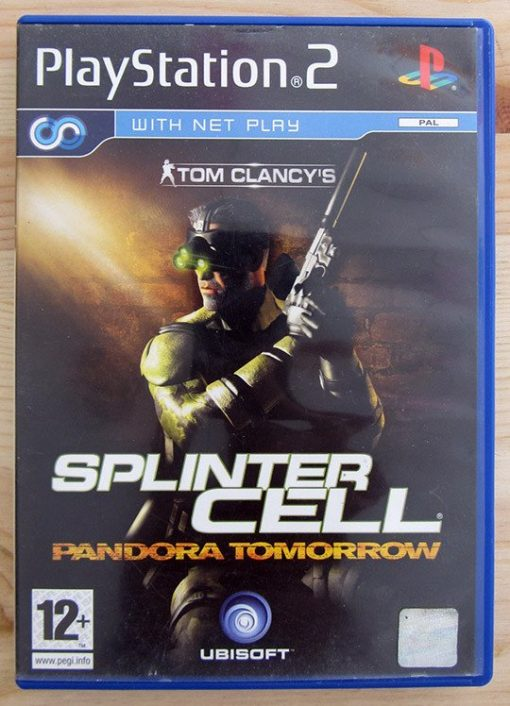 Videojogo Usado PS2 Tom Clancy's Splinter Cell - Pandora Tomorrow