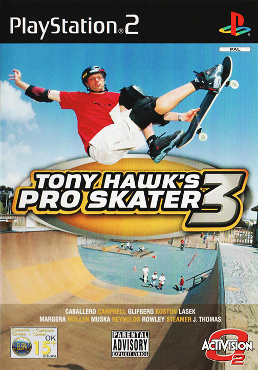 Videojogo Usado PS2 Tony Hawk's Pro Skater 3