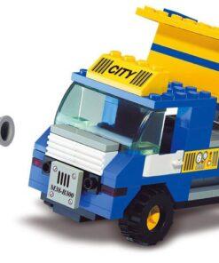 Brinquedo de construção Town Camião do Lixo