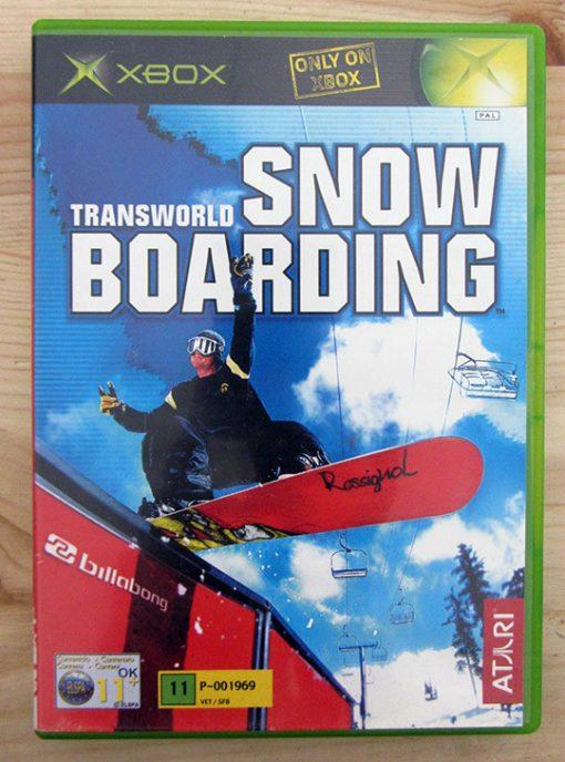 Videojogo Usado XBOX Transworld Snowboarding