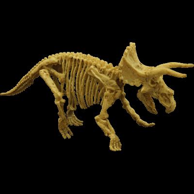 Brinquedo Science 4 You Escavações Fósseis - Triceratops