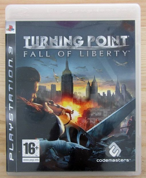 Videojogo Usado PS3 Turning Point: Fall of Liberty