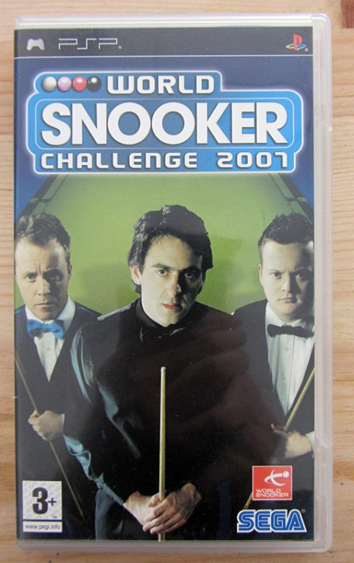 Videojogo Usado PSP World Snooker Challenge 2007