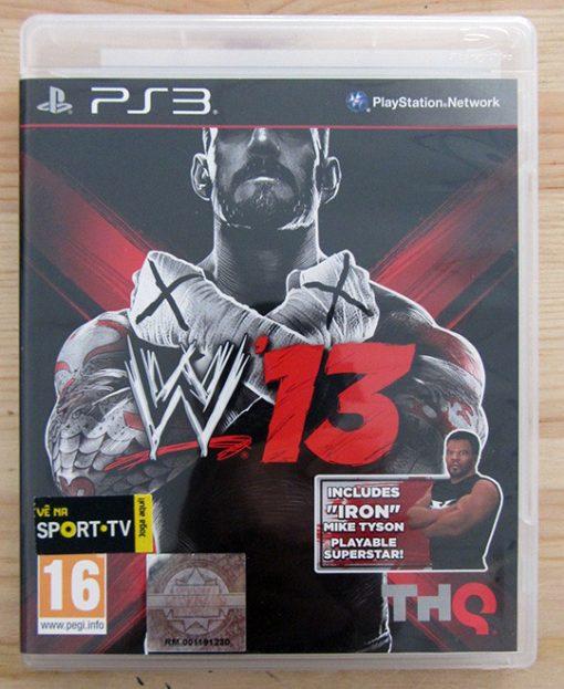 Videojogo Usado PS3 WWE 13