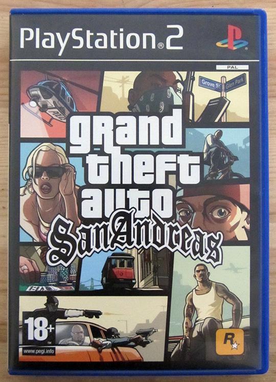 Grand Theft Auto: San Andreas PS2