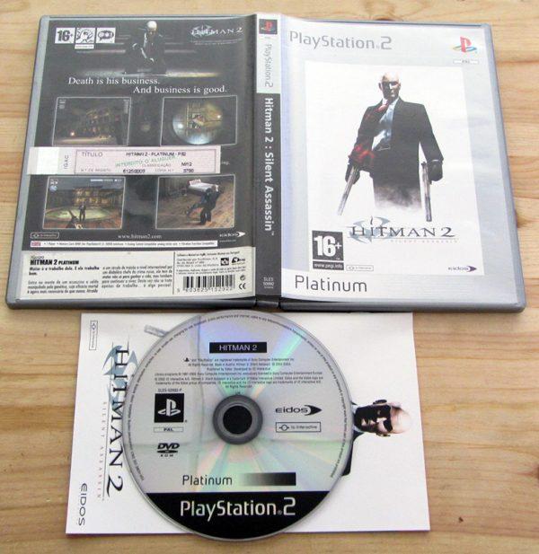 Hitman 2: Silent Assassin PS2