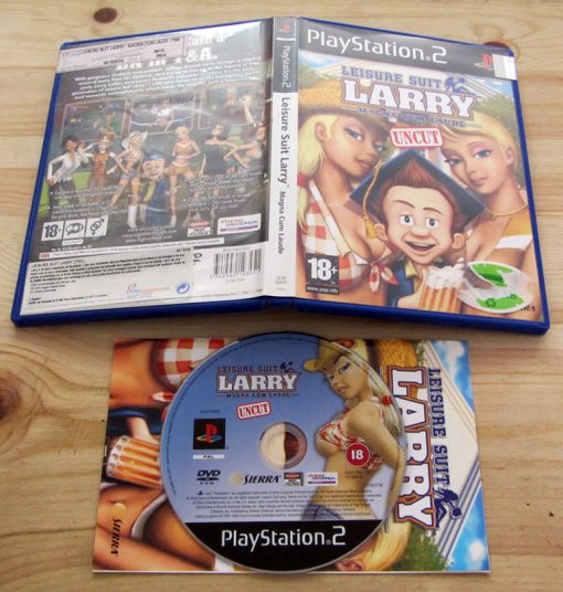 Leisure Suit Larry: Magna Cum Laude PS2