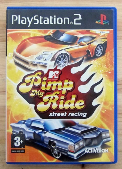 MTV Pimp My Ride: Street Racing PS2