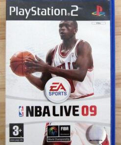 NBA Live 09 PS2