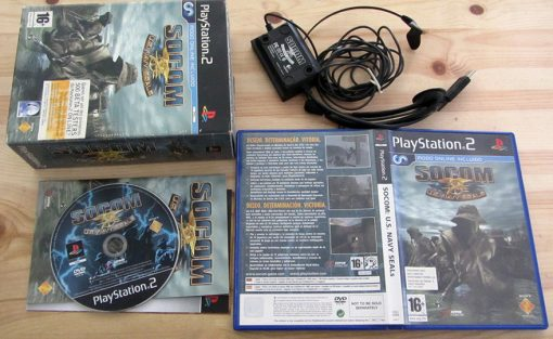 Socom (C/ Headset) PS2