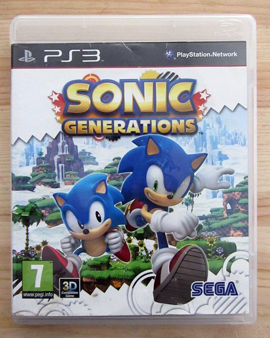 how to play sonic generations on pc