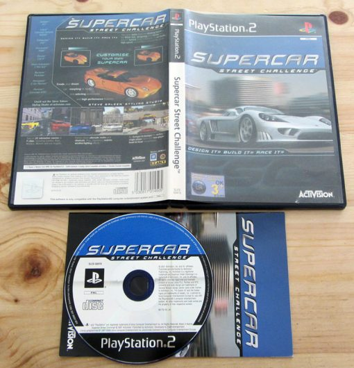 Supercar Street Challenge PS2