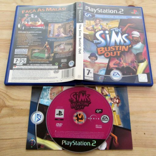 The Sims: Bustin' Out PS2