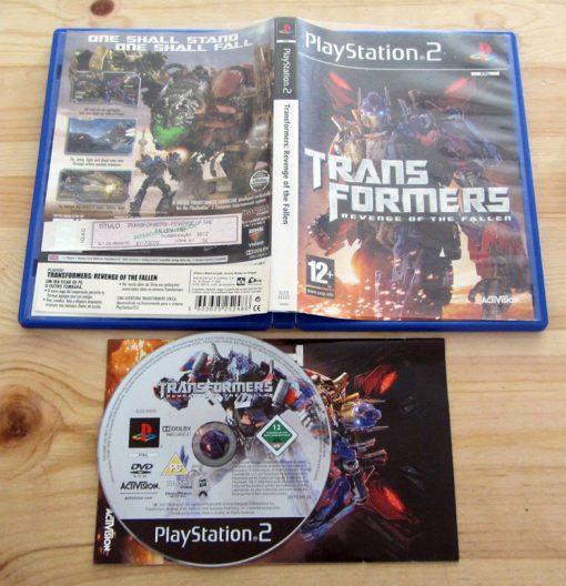 Transformers: Revenge of the Fallen PS2