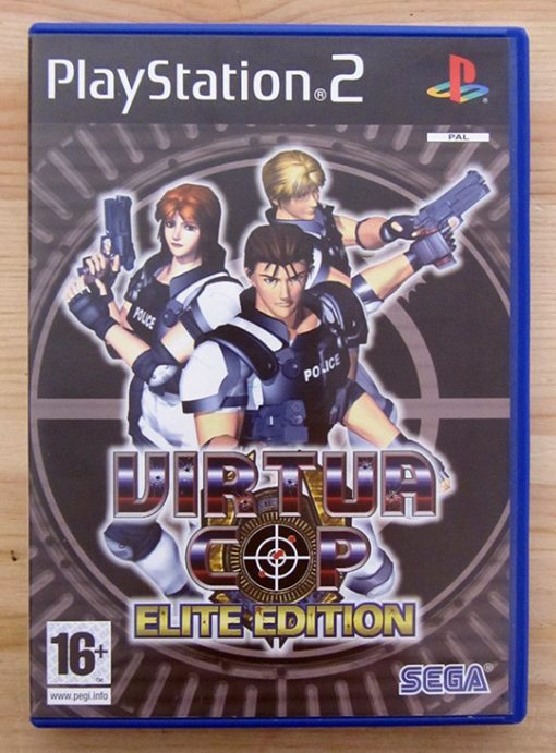 Virtua Cop: Elite Edition PS2