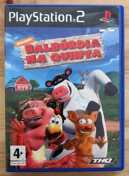 Balbúrdia na Quinta (Barnyard) PS2