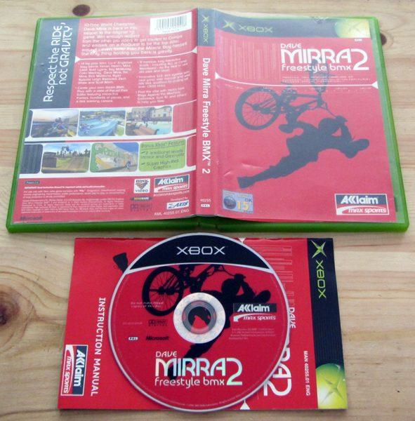 Dave Mirra Freestyle BMX 2 XBOX