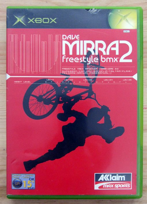 Dave Mirra Freestyle BMX 2 XBOX