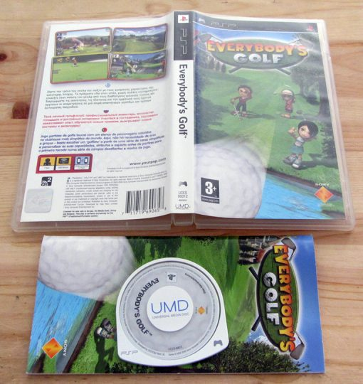 Everybody's Golf PSP
