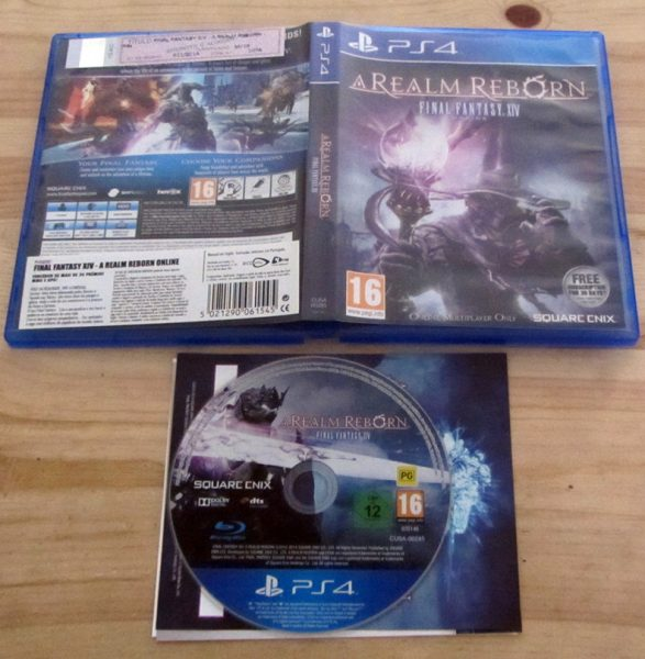 Final Fantasy XIV: A Realm Reborn PS4