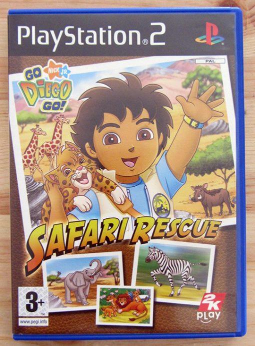 Go Diego Go! Safari Rescue PS2