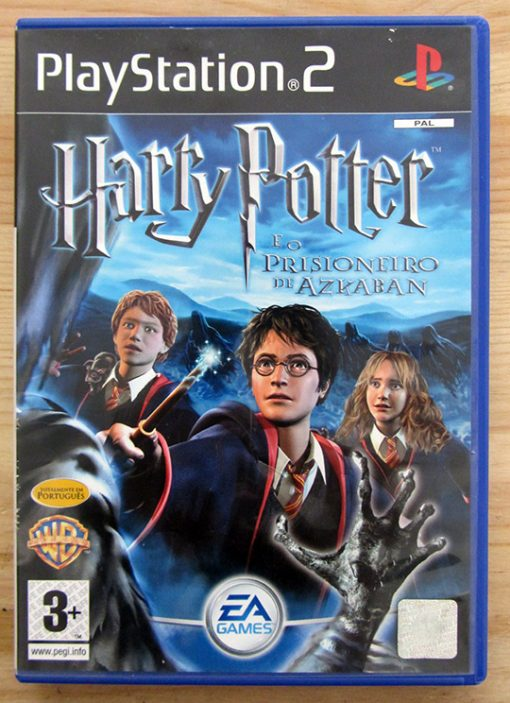 Harry Potter e o Prisioneiro de Azkaban PS2