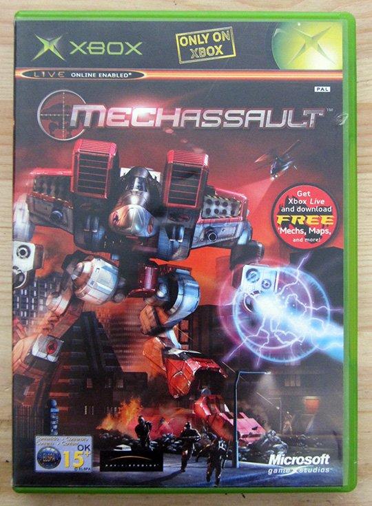 MechAssault XBOX