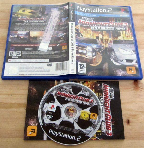 Midnight Club 3: DUB Edition PS2